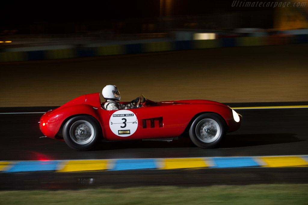 Maserati 300S - Chassis: 3053 - Driver: Pierre Mellinger / Tommaso Gelmini  - 2014 Le Mans Classic