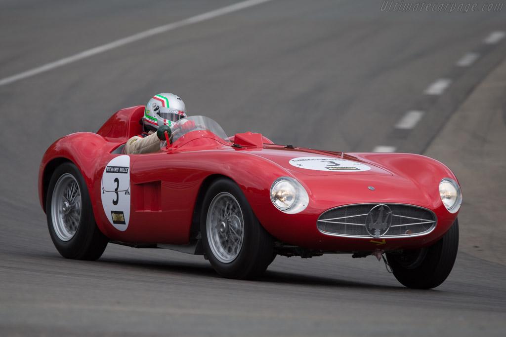 Maserati 300S - Chassis: 3053 - Driver: Pierre Mellinger / Tommaso Gelmini - 2014 Le Mans Classic