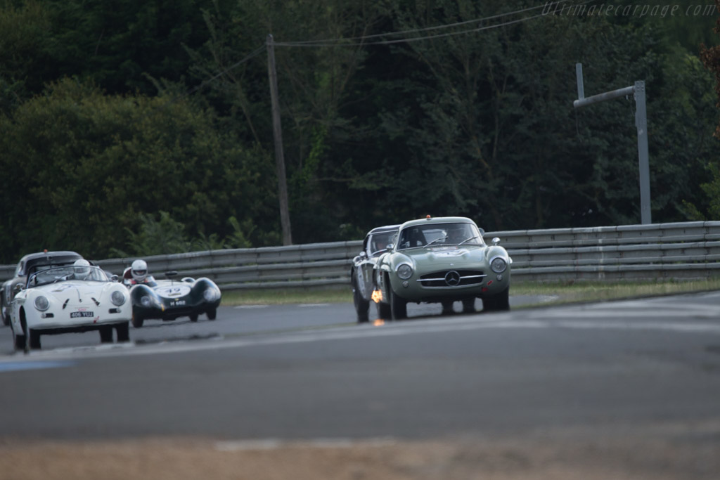 Mercedes-Benz 300 SL - Chassis: 198.040.5500449 - Driver: Erich Oelschlagel / Johannes Huber  - 2014 Le Mans Classic
