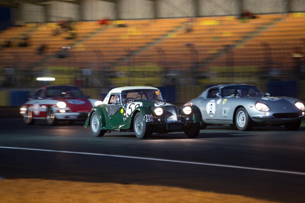 Morgan +4 - Chassis: 3464 - Driver: Jack Bellinger / Rick Bourne  - 2014 Le Mans Classic