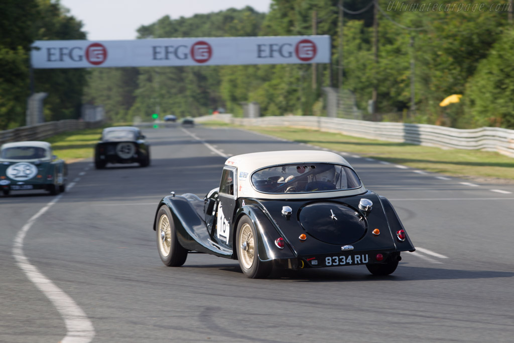 Morgan +4 - Chassis: 4866 - Driver: John Emberson / Bill Wykeham  - 2014 Le Mans Classic