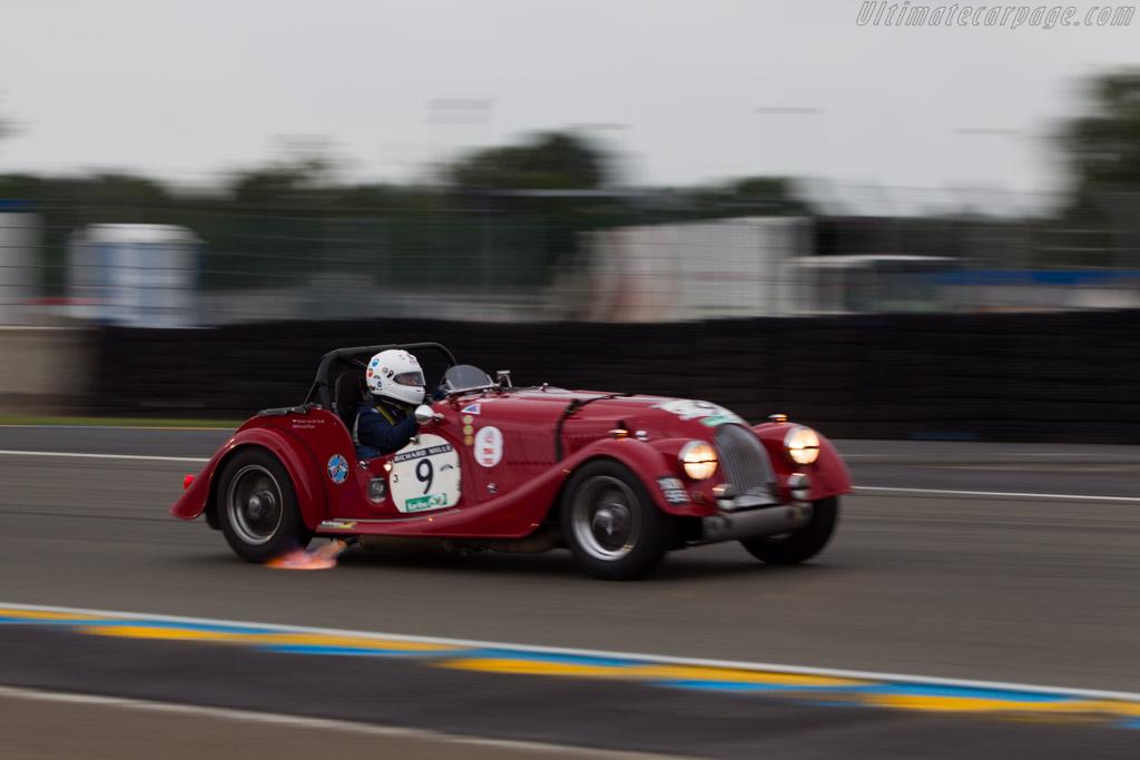 Morgan +4 - Chassis: 4156 - Driver: Andrien van der Kroft / Richard Plant  - 2014 Le Mans Classic