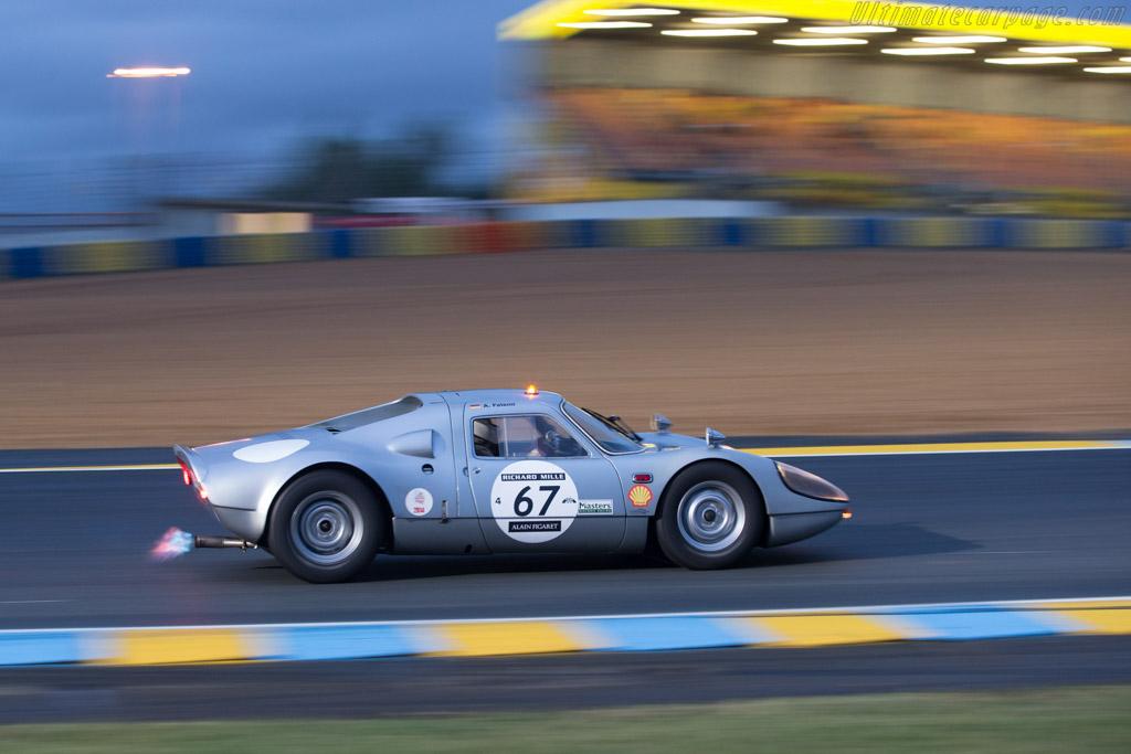 Porsche 904/8 - Chassis: 904-009 - Driver: Afschin Fatemi  - 2014 Le Mans Classic