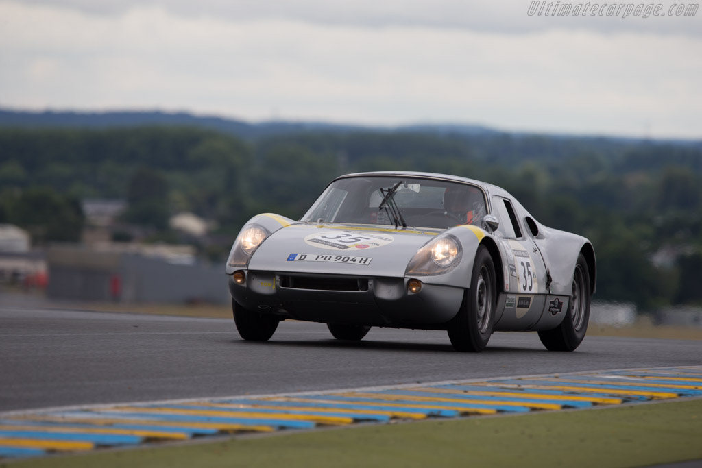 Porsche 904 GTS - Chassis: 904-093 - Driver: Thorkild Stamp / Casper Elgaard  - 2014 Le Mans Classic