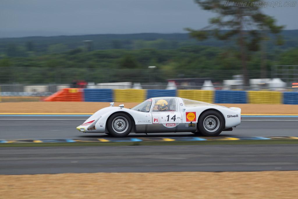 Porsche 906 - Chassis: 906-104 - Driver: Pierre Perret / Didier Robin / Arnold Robin  - 2014 Le Mans Classic