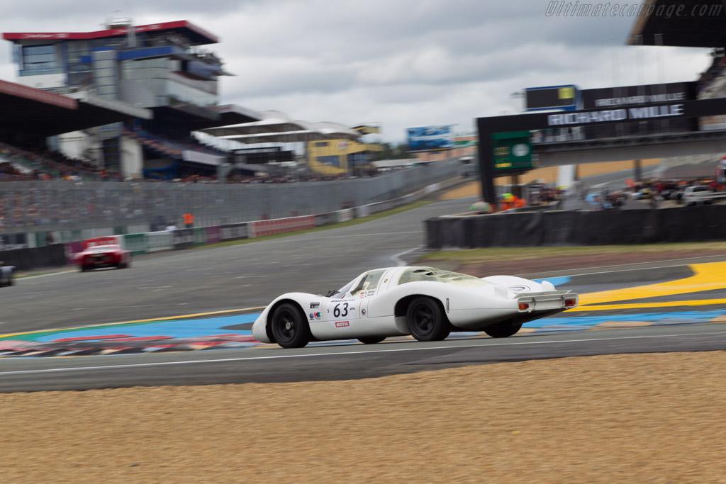 Porsche 907/6 - Chassis: 907-003 - Driver: Jurgen Barth  - 2014 Le Mans Classic