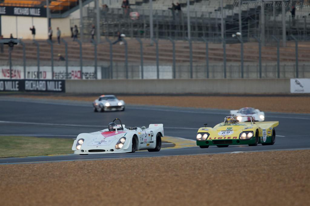 Porsche 908/2 Spyder - Chassis: 908/02-018 - Driver: Robert Fink  - 2014 Le Mans Classic