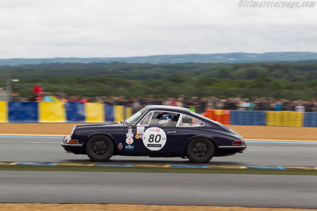 Porsche 911  - Driver: Francisco sa Carneiro / Antonio Simoes  - 2014 Le Mans Classic