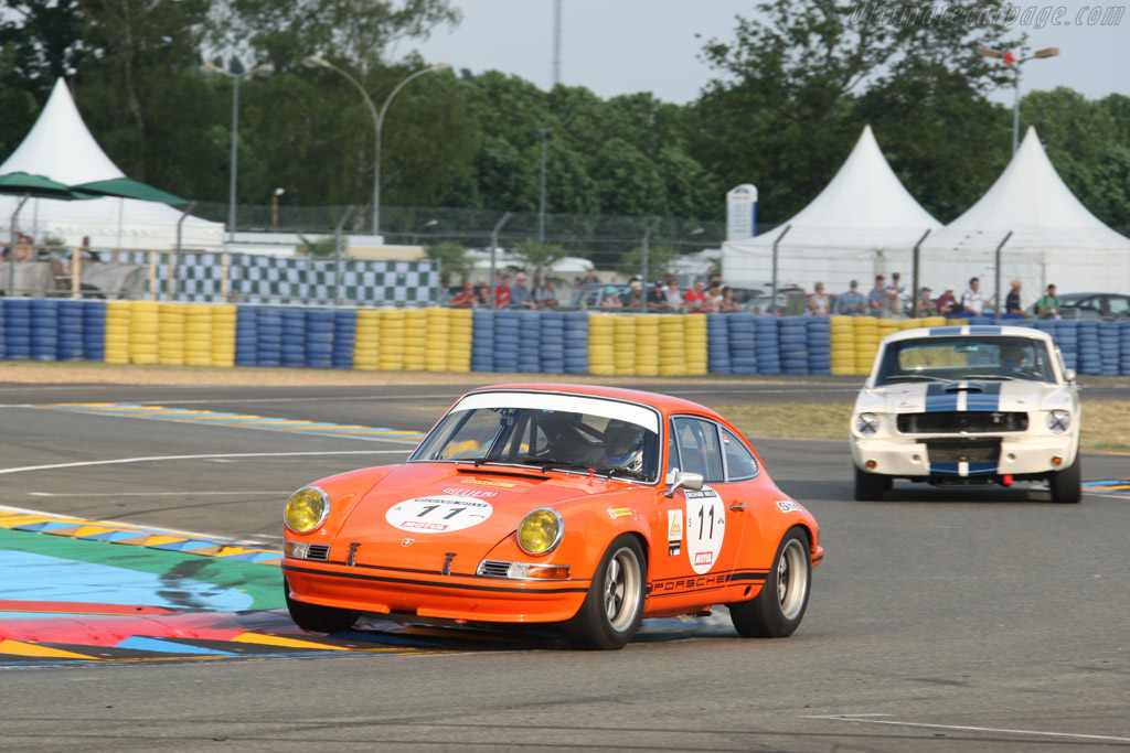 Porsche 911 ST 2.5  - Driver: John Logan / Robert Williams / Steve Winter  - 2014 Le Mans Classic