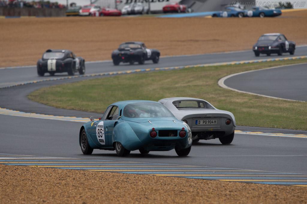 Rene Bonnet Aerodjet - Chassis: 1160 - Driver: Herve Guyomard  - 2014 Le Mans Classic