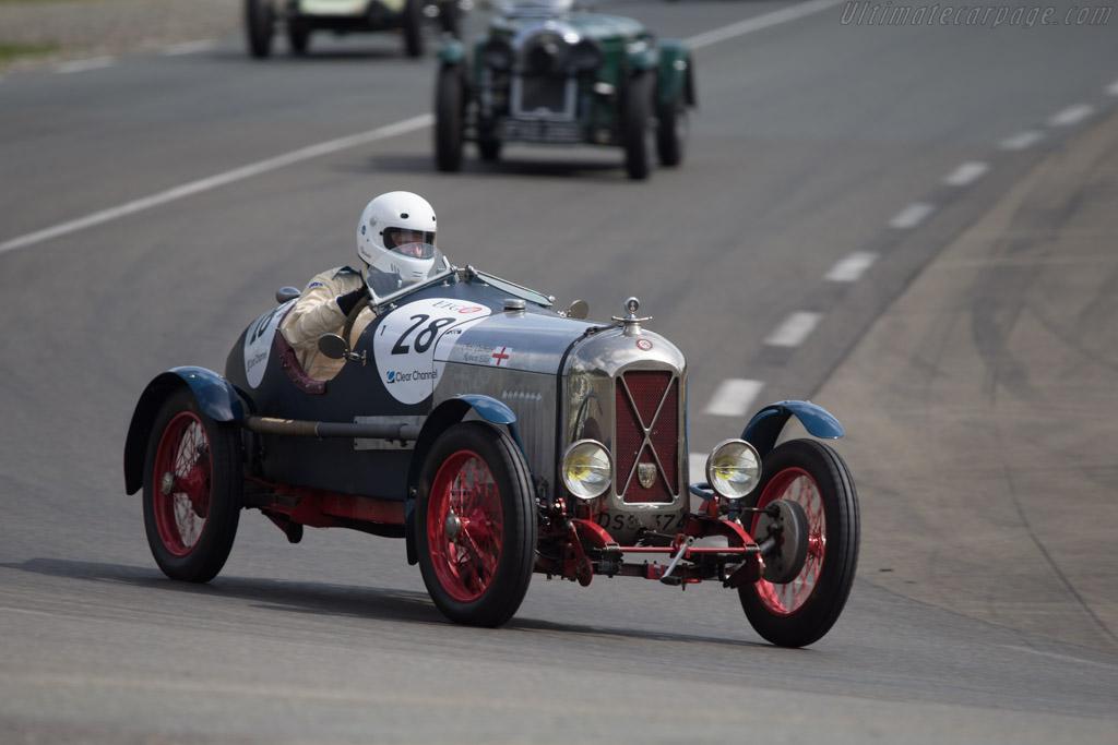 Salmson GS Course  - Driver: Chris Cadman / Robert Ellis  - 2014 Le Mans Classic