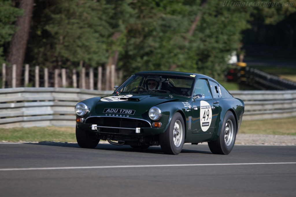 Sunbeam Tiger Le Mans - Chassis: B9499997 - Driver: Tony Eckford / Chris Beighton  - 2014 Le Mans Classic