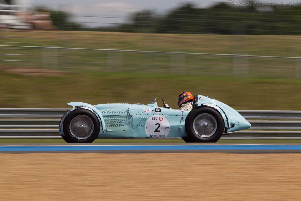 Talbot Lago Monoplace Decalee - Chassis: 90130 - Driver: Christian Traber  - 2014 Le Mans Classic