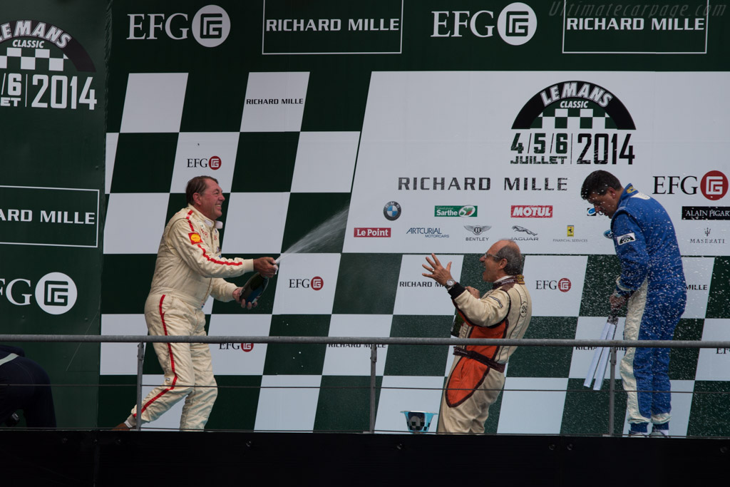 The winners    - 2014 Le Mans Classic