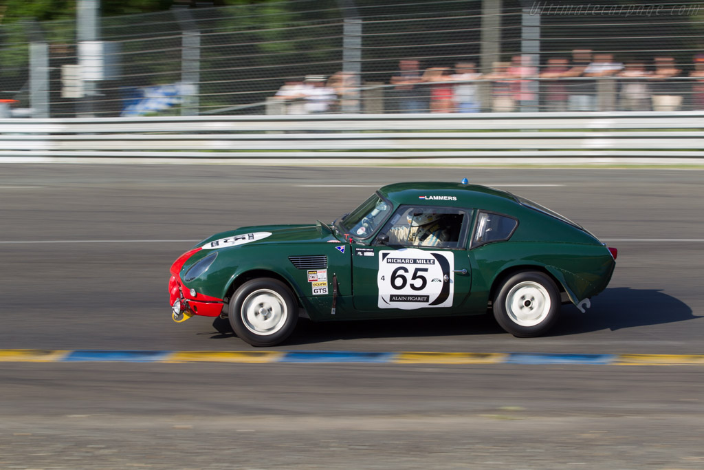 Triumph Spitfire - Chassis: FC5594 - Driver: Alistair Pugh / Luke Wos  - 2014 Le Mans Classic