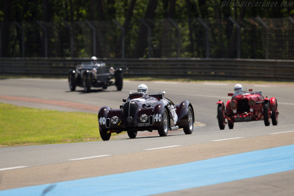 Alfa Romeo 6C 2300 MM - Chassis: 815001 - Driver: Pierre Mellinger / Tommaso Gelmini  - 2016 Le Mans Classic