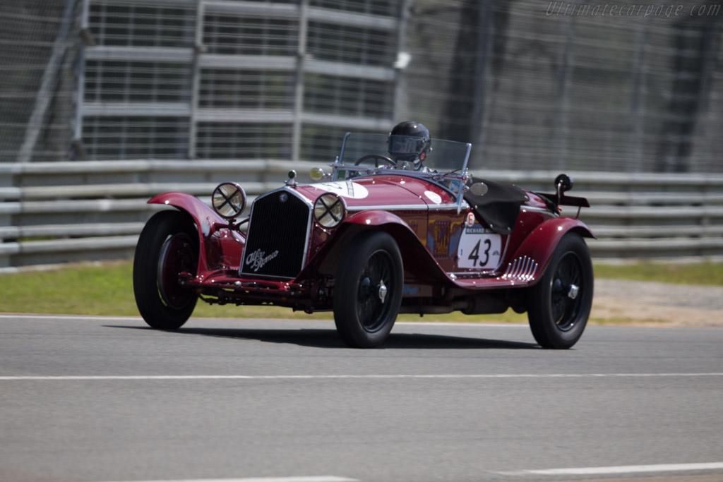 Alfa Romeo 8C 2300  - Driver: Martin Halusa  - 2016 Le Mans Classic