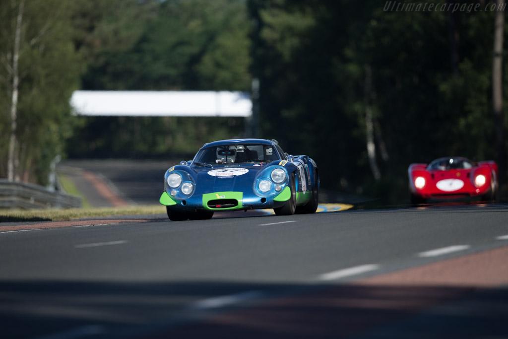Alpine A220 - Chassis: 1736 - Driver: Jurgen Boden  - 2016 Le Mans Classic