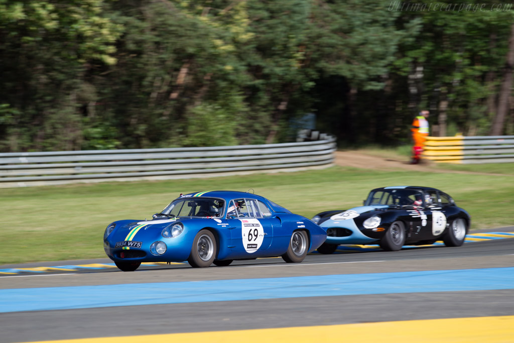 Alpine M63  - Driver: Jean-Charles Redele / Philippe Peauger  - 2016 Le Mans Classic