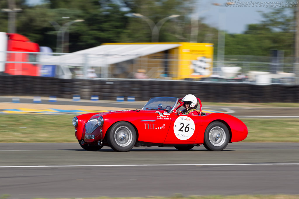 Austin Healey 100M - Chassis: BN1/149635 - Driver: Stefano Friscia / Guillaume Meurisse  - 2016 Le Mans Classic