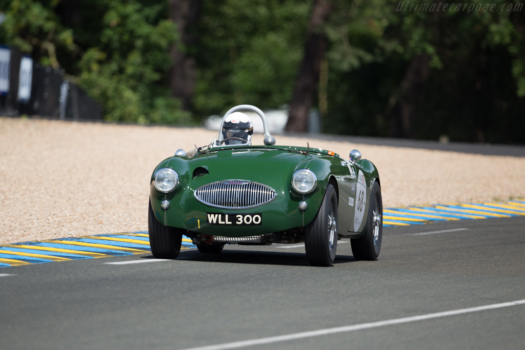 Austin Healey 100S  - Driver: John Young / Derek Hood  - 2016 Le Mans Classic