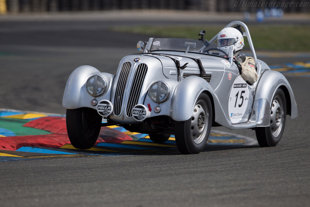 BMW 328 - Chassis: 85347 - Driver: Albert Otten / Diethelm Horbach  - 2016 Le Mans Classic