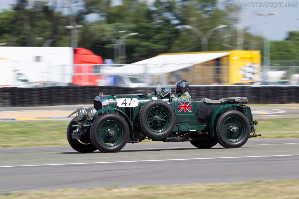 Bentley 4 5 Litre Blower Chassis Sm3914 Driver