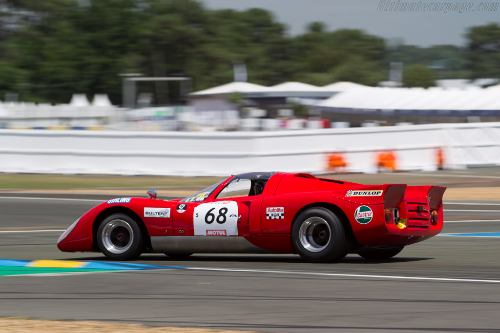 Chevron B16 - Chassis: CH-DBE-28 - Driver: Alex MacAllister / R. Gray Gregory  - 2016 Le Mans Classic