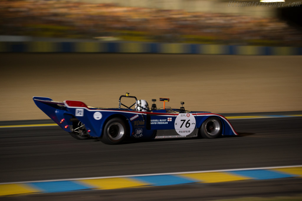 Chevron B31 - Chassis: B31-75-04 - Driver: Russell Busst / David Freeman  - 2016 Le Mans Classic