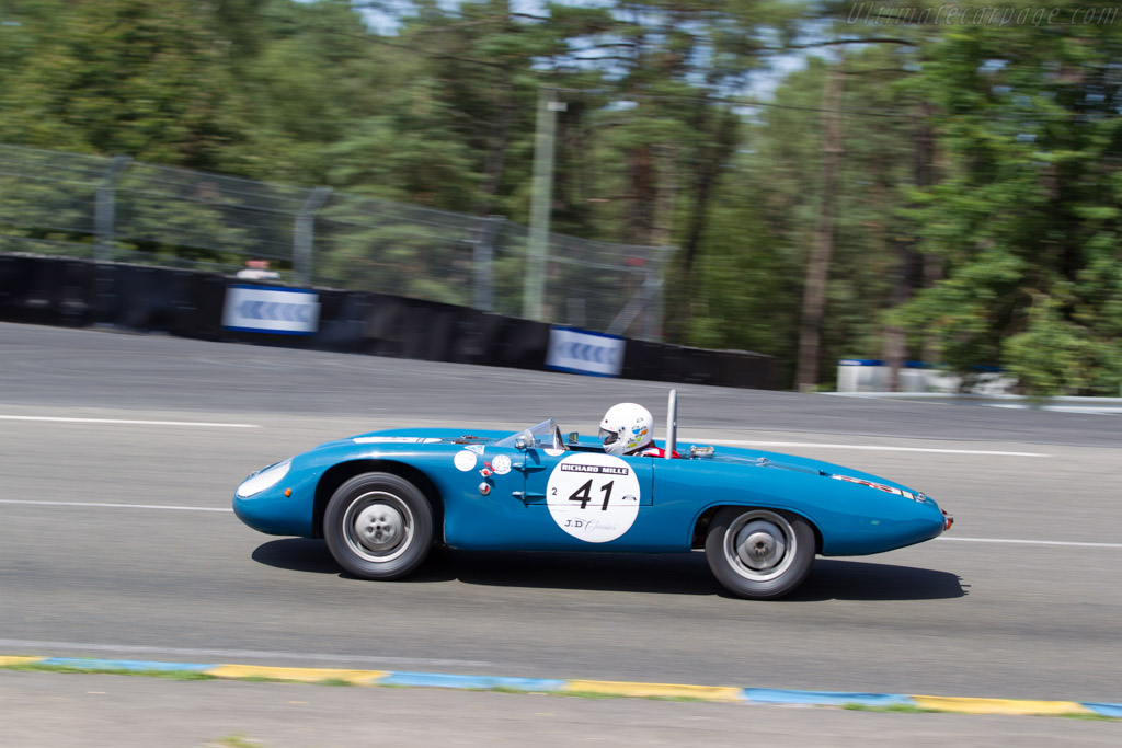DB Panhard HBR4 - Chassis: 800 - Driver: Michel Blanchard / Karine Blanchard  - 2016 Le Mans Classic