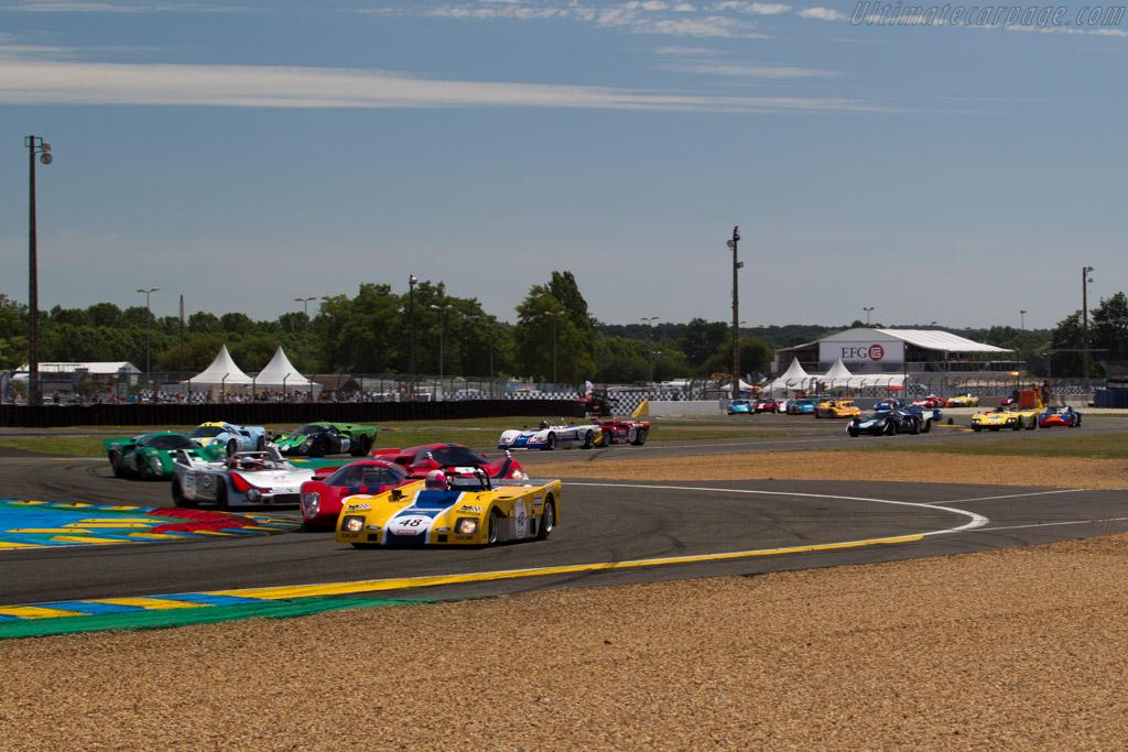 Duckhams LM - Chassis: LM-1 - Driver: Jacques Nicolet  - 2016 Le Mans Classic