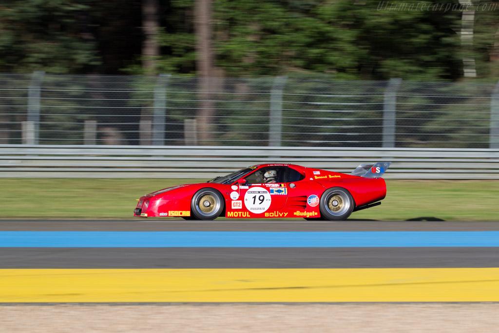 Ferrari 512 BBLM - Chassis: 35525 - Driver: Christian Bouriez  - 2016 Le Mans Classic