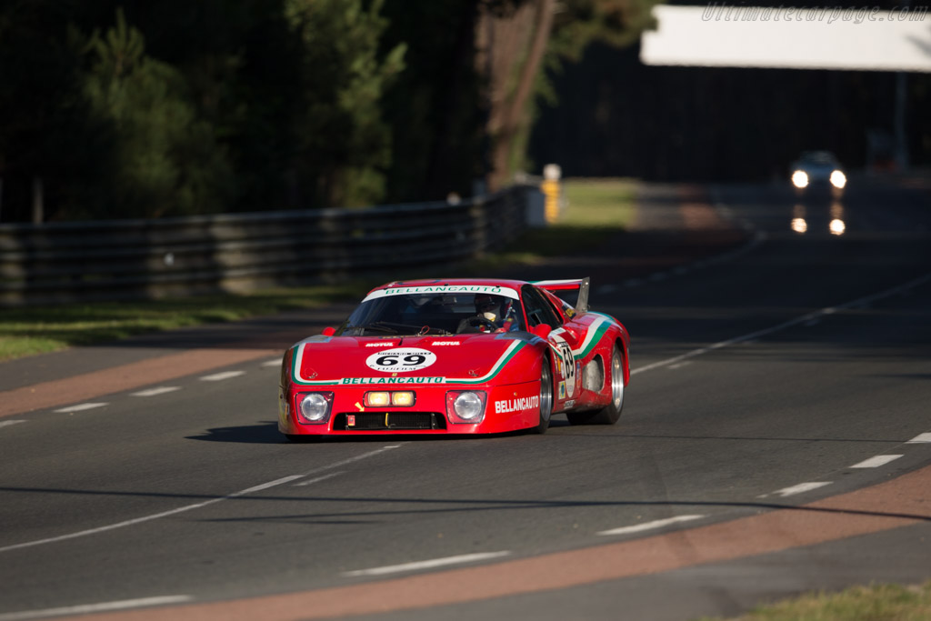 Ferrari 512 BBLM - Chassis: 28601 - Driver: Mr John of B / David Ferrer / Soheil Ayari  - 2016 Le Mans Classic
