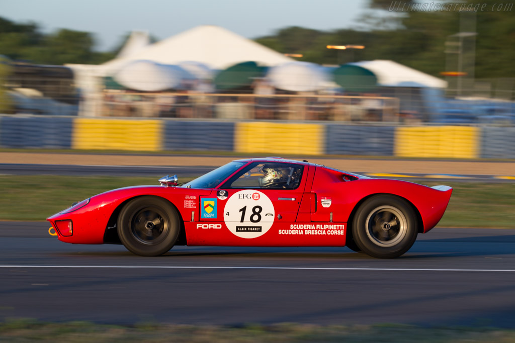Ford Gt40 Chassis Gt40p 1042 Driver Phil Mulacek