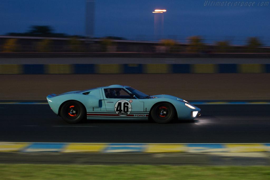 Ford GT40 - Chassis: GT40P/1025 - Driver: Shaun Lynn ...