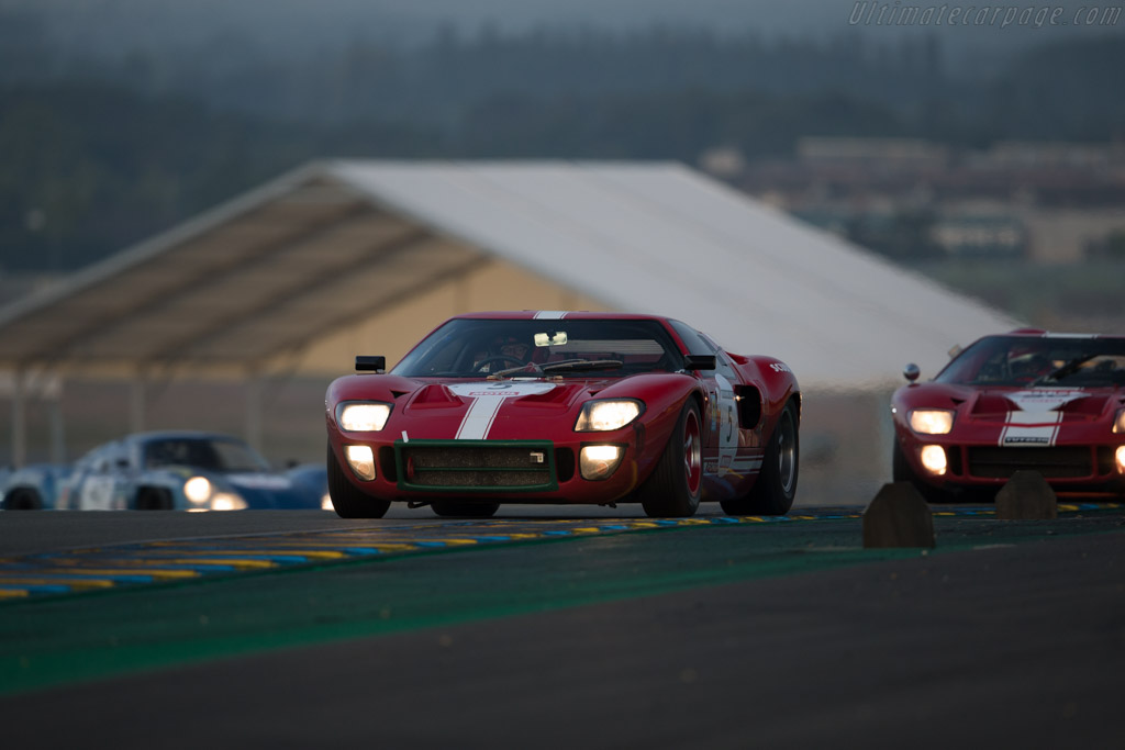 Ford GT40  - Driver: Marc Doncieux  - 2016 Le Mans Classic