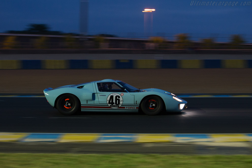Ford GT40 - Chassis: GT40P/1025 - Driver: Shaun Lynn  - 2016 Le Mans Classic