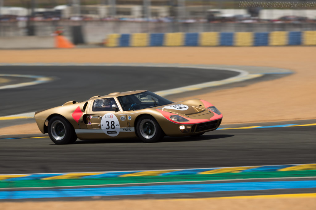 Ford GT40 Mk2 - Chassis: GT40P/1016 - Driver: Claude Nahum  - 2016 Le Mans Classic