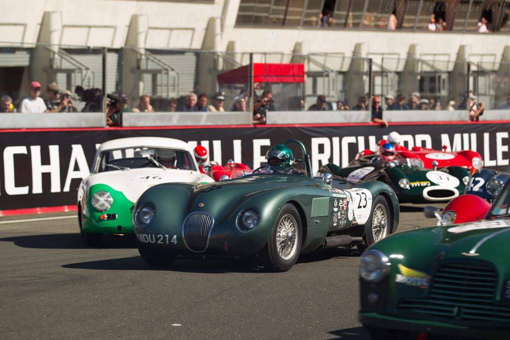 Jaguar C-Type - Chassis: XKC 004 - Driver: Nigel Webb  - 2016 Le Mans Classic
