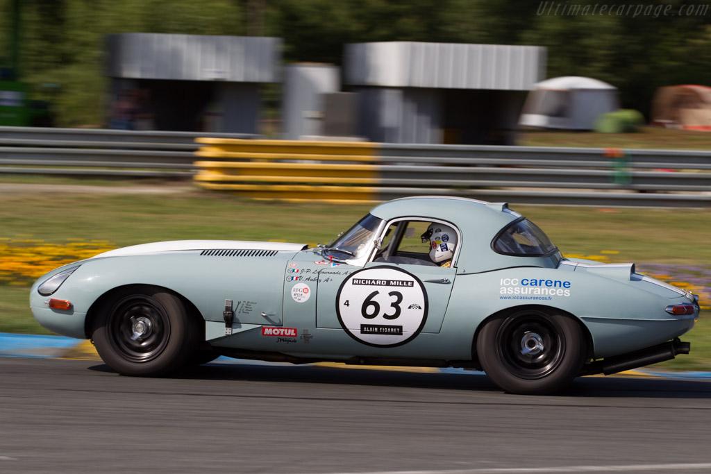 Jaguar E-Type - Chassis: 876856 - Driver: Jean-Pierre Lajournade / Vincent Aubry  - 2016 Le Mans Classic