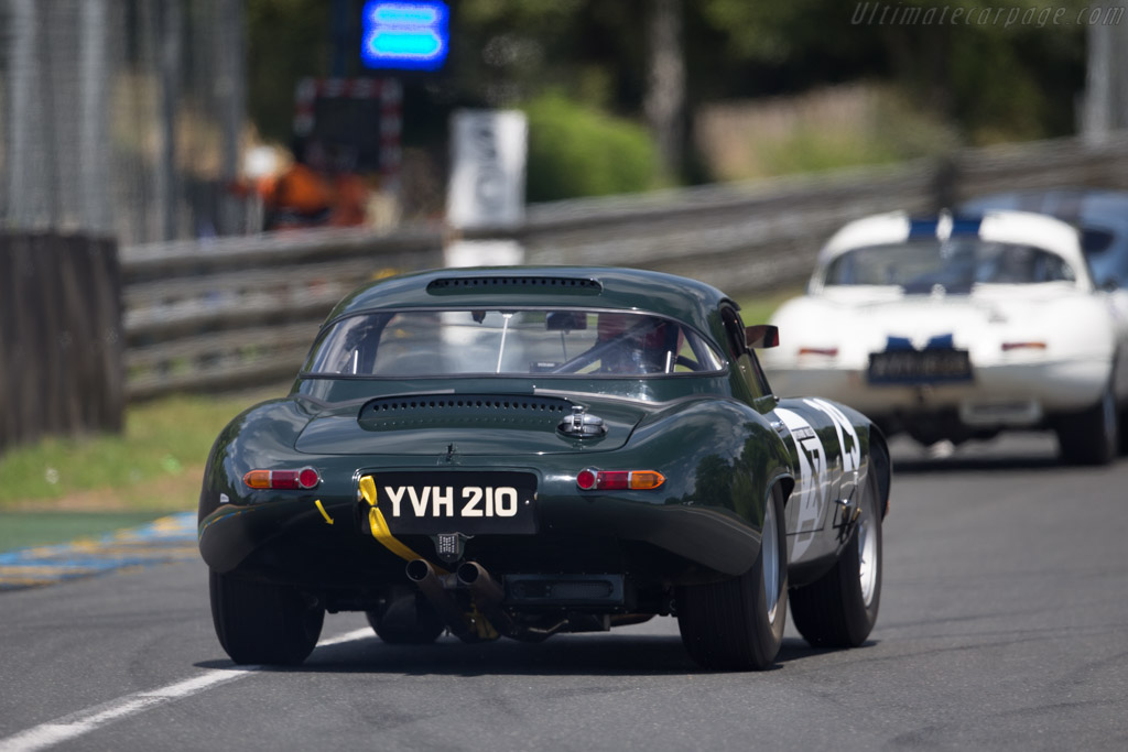 Jaguar E-Type Lightweight - Chassis: S850666 - Driver: Alexander Rittweger  - 2016 Le Mans Classic