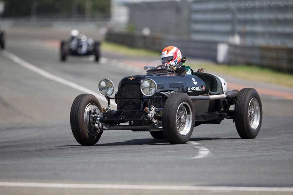 Lagonda Rapier  - Driver: Heiko Ostmann / Horst Schneider  - 2016 Le Mans Classic