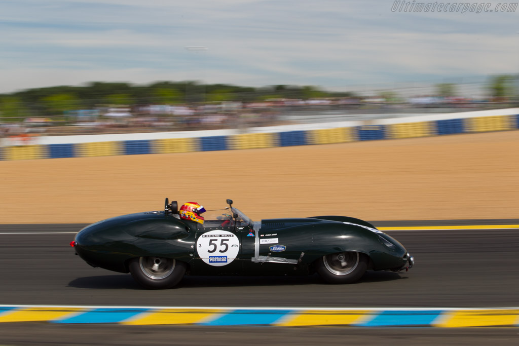 Lister Costin Jaguar - Chassis: BHL 133 - Driver: Chris Ward  - 2016 Le Mans Classic