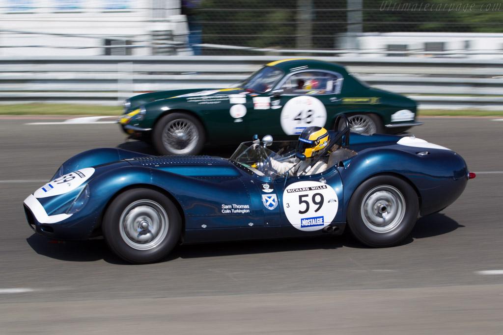 Lister Knobbly Jaguar - Chassis: BHL 104 - Driver: Sam Thomas / Michael Lyons  - 2016 Le Mans Classic