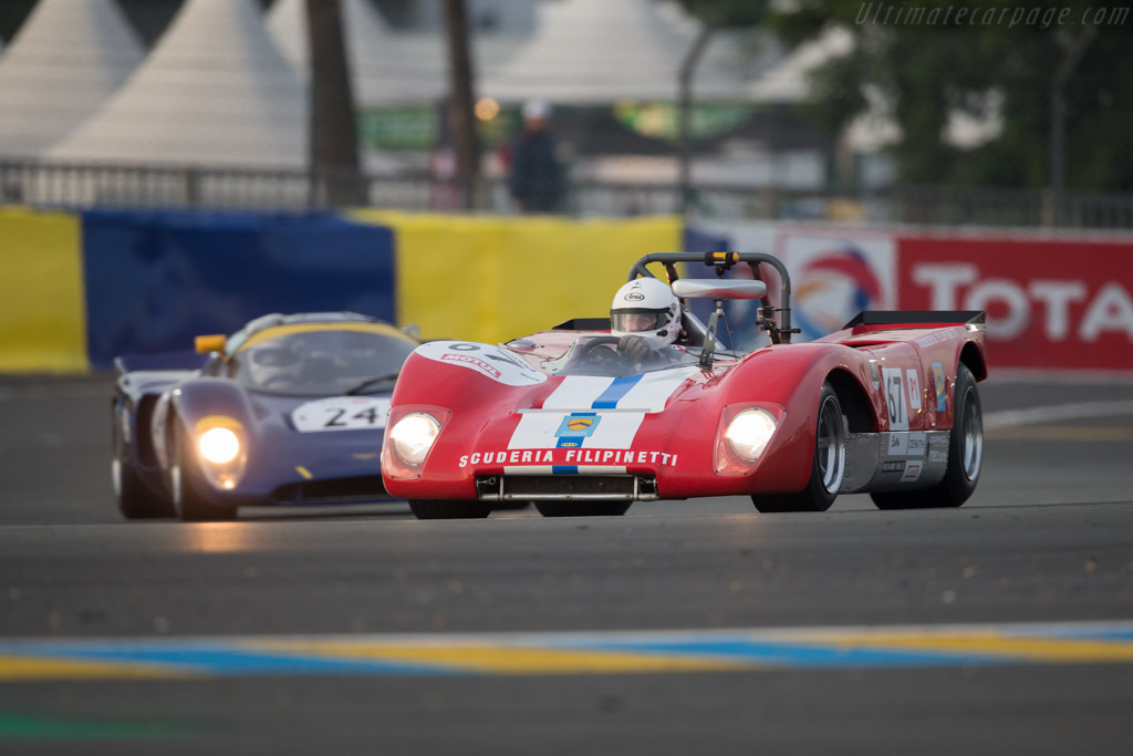 Lola T212 - Chassis: HU18 - Driver: Mauro Poponcini / Anthony Schrauwen  - 2016 Le Mans Classic