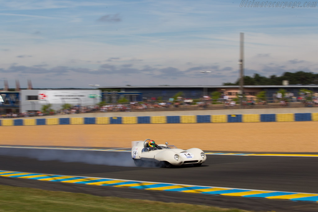 Lotus 15 Climax - Chassis: 622/3 - Driver: Ivan Vercoutere / Andrew Wolfe  - 2016 Le Mans Classic