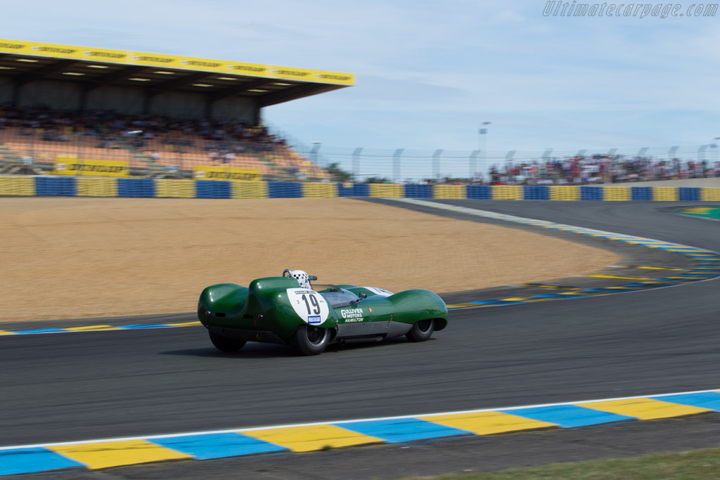 Lotus 15 Climax - Chassis: 618/3 - Driver: Michel Wanty / Guy Peeters  - 2016 Le Mans Classic