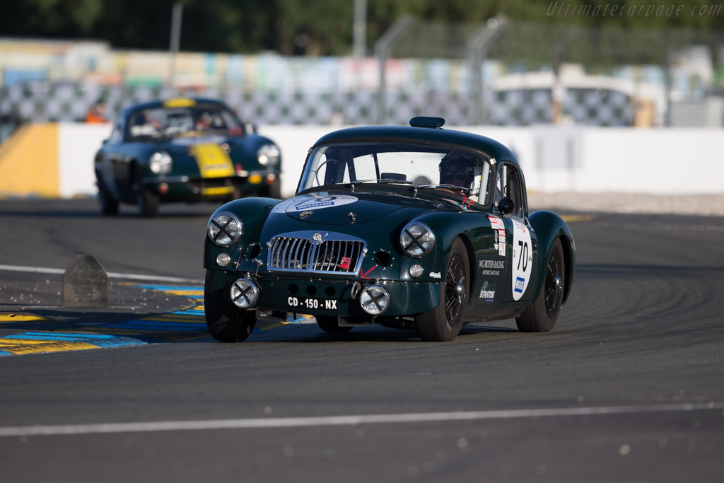 MG A - Chassis: GHDL79994 - Driver: Laurent Paulus  - 2016 Le Mans Classic