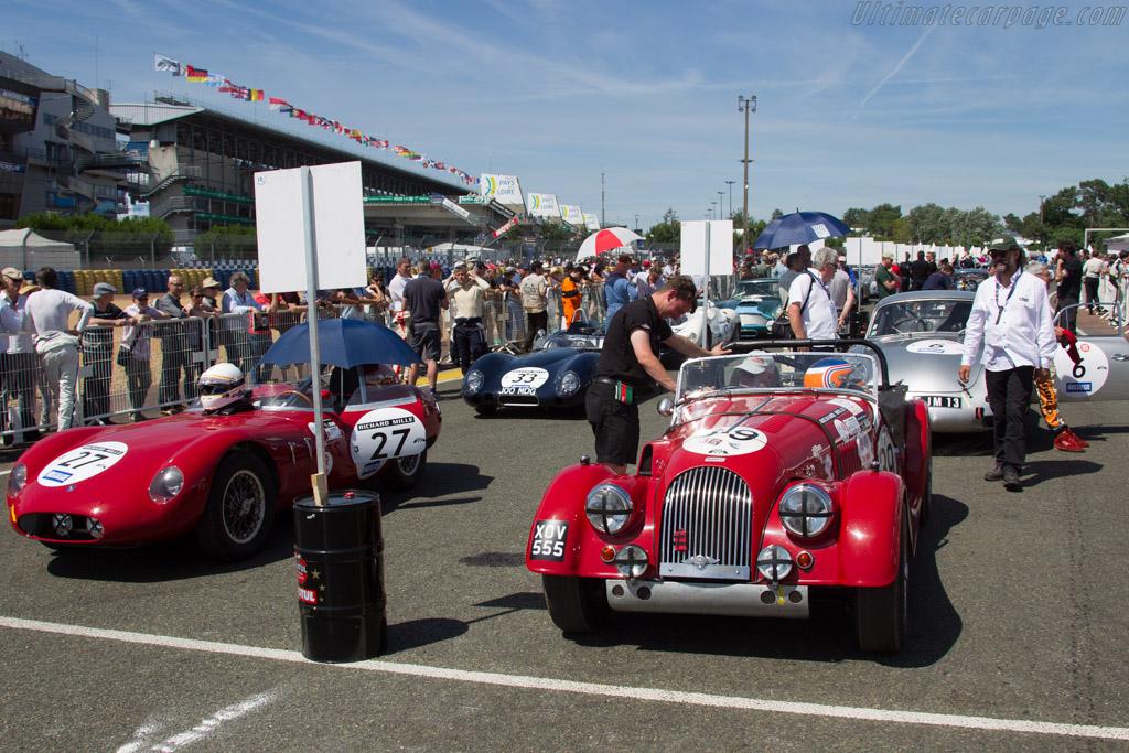 Morgan +4 - Chassis: 4156 - Driver: Adrien van der Kroft / Richard Plant  - 2016 Le Mans Classic