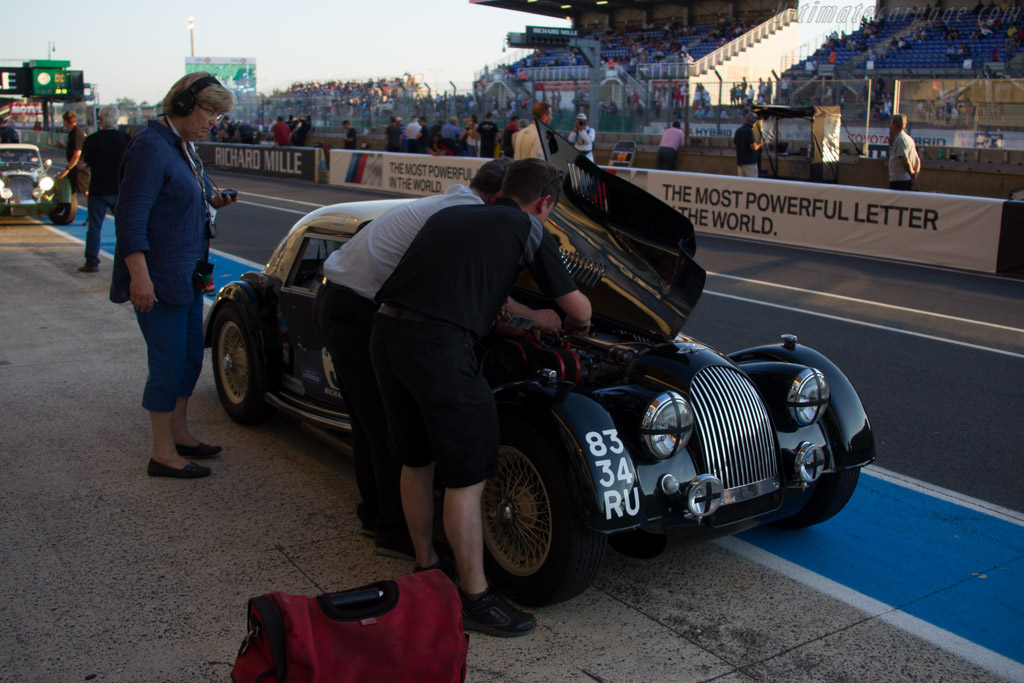 Morgan +4 Super Sport - Chassis: 4866 - Driver: John Emberson / Bill Wykeham  - 2016 Le Mans Classic
